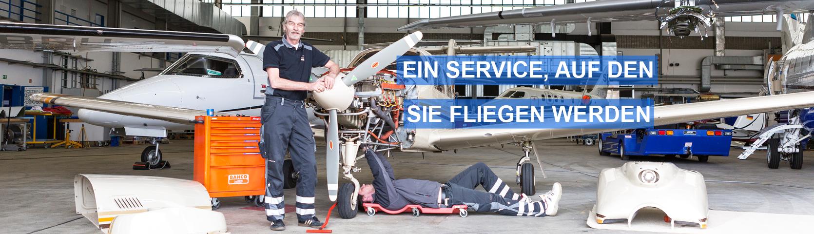 DOTEC GmbH Flugzeugwartung